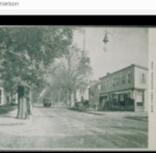 Early Photo of Main Street Danielson