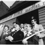 Italian-American home grand opening, Hartford, January 1975