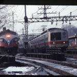 Metro North trains, South Norwalk