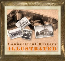 Photo and Graphic Depicting Connecticut Illustrated History