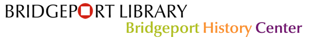 Bridgeport History Center Banner logo Graphic