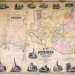 Meriden Town Map small image