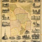 Watertown Map Small Image