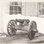 Revolutionary War cannon at Winchester