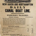 New Haven and Northampton Canal broadside