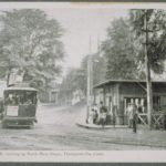 Trolley station, Thompsonville
