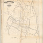 Map of Hartford, 1640