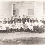 L.S. Mills and pupils, Plainfield Academy, 1903