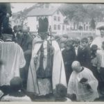 Laying of the cornerstone, St. Patrick's Church, Mystic, 1908