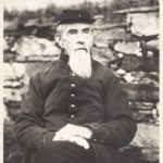 A.L. Mills in his Civil War uniform