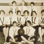 Women basketball players, 1927