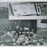 War bond auction at the University of Connecticut, 1944