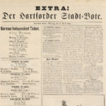 Extra! Der hartforder Stadt-Bote, 1883
