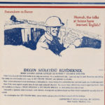 Hurrah! The folks at home have learned Englsih! (broadside in multiple languages), 1918