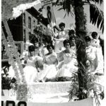 Puerto Rican parade float, Hartford, 1967