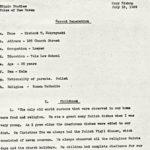 Richard T. Mokrzynsky oral history, 1939