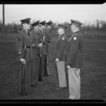 Reserve Officers' Training Corps (R.O.T.C.) inspection, 1943
