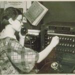 Switchboard operator, Stamford, 1942