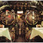USS Croaker torpedo room, 1943