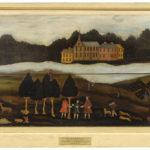 View of Haddam, 1758, by Sibyl Huntington