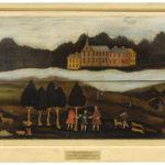 View of Haddam, 1758, by Sibyl Huntington