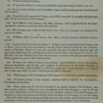 Rules of Association of the East Haddam Library Company, 1829