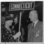 Connecticut delegation, Republican National Convention, former governor Trumbull, 1936
