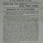 Course of Common Sense - lectures by physician), 1870