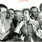Ella Grasso and supporters, 1974