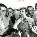 Ella Grasso and supporters, 1974