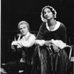 Josef Sommer as Thoms Jefferson and Seret Scott and Sally Hemings, Hartford Stage Company, 1976r