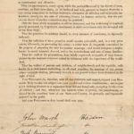 Request for law limiting divorces, Haddam, 1828