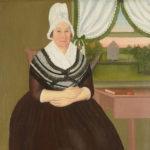 Lucy Gallup Eldredge, 1795, by John Brewster