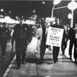 Marchers for better North end housing, West Hartford, 1967