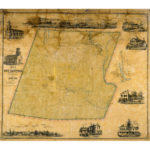 Map of the town of New Hartford, 1852