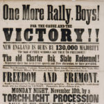 One more rally, boys: broadside supporting election of Fremont, 1856