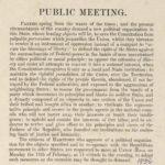 Public meeting, Hartford, 1856
