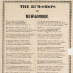 The rum shops of New London, 1840s
