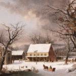 Seven miles to Farmington, 1853, George Durrie