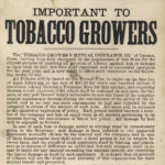 Tobacco Growers Mutual Insurance Co., Canaan, 1881