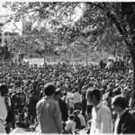 Viet Nam War moratorium, Bushnell Park, Hartford, 1969