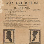 Wax exhibition, Wethersfield, 1808