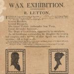 Wax exhibition, Wethersfield, 1808
