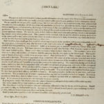1817 circular supporting Oliver Wolcott for governor