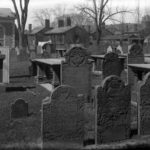 Ancient burying ground gravestones, Hartford, 1923