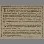General Association of the pastors of the consolidated churches, Mansfield, 1774