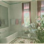 Bath room, Branford House, 1917