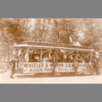 Bridgeport trolley, 1895