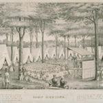 Camp meeting, ca. 1850