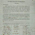 Connecticut Bible Society braodside soliciting funds for Bibles, ca. 1810